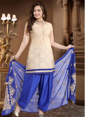 Lace Work Readymade Salwar Suit