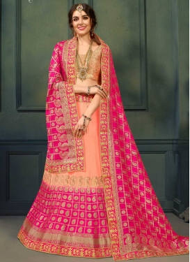 Lace Work Trendy Designer Lehenga Choli