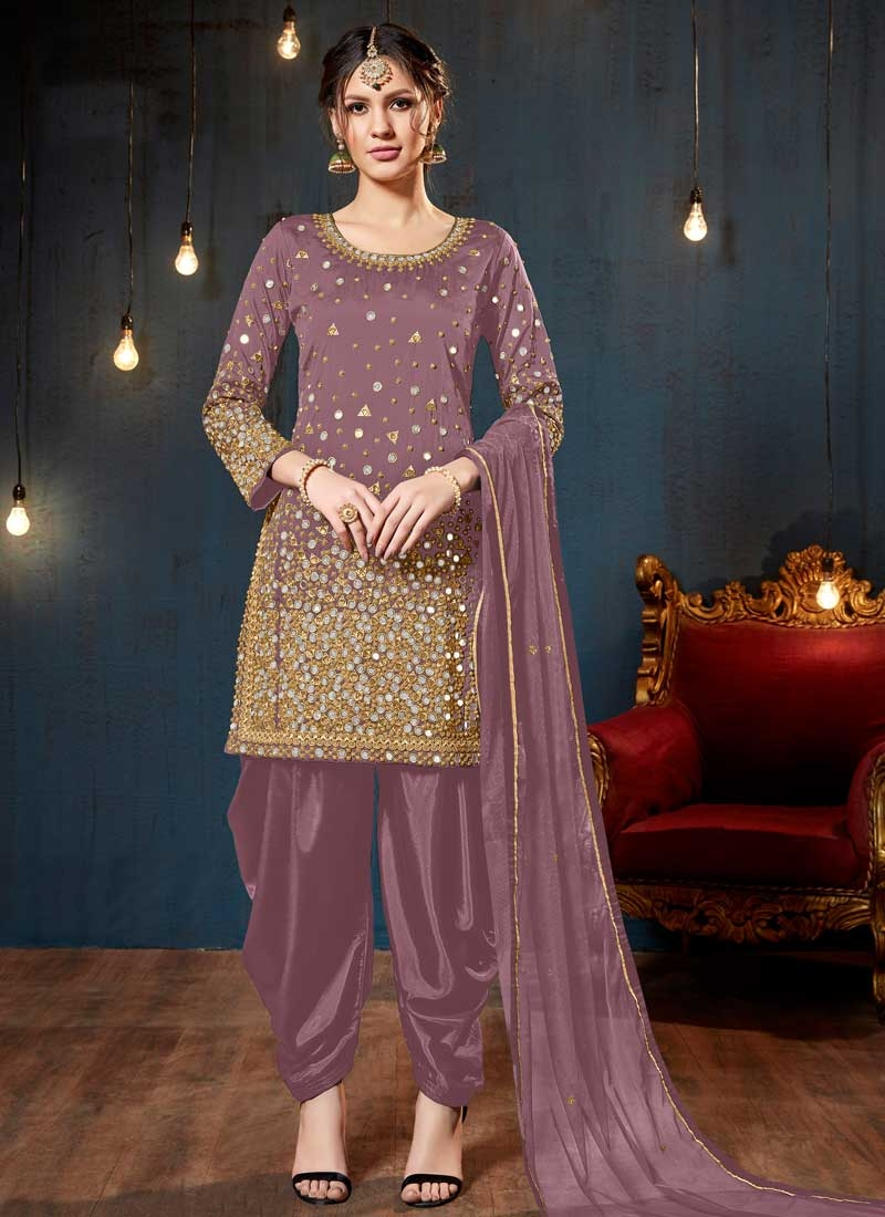 Lace Work Trendy Salwar Kameez