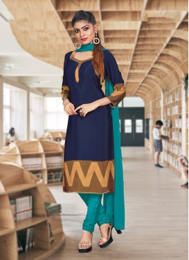 Lavish Crepe Silk Casual Churidar Suit