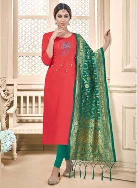 Lavish Embroidered Churidar Salwar Suit