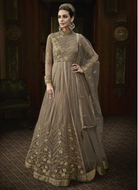Layered Designer Salwar Kameez For Ceremonial