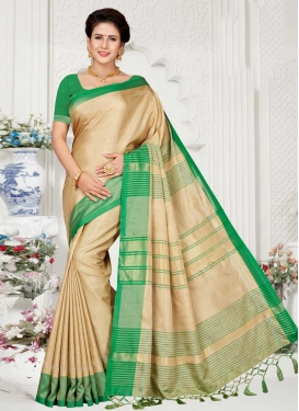 Linen Designer Contemporary Saree