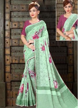Linen Trendy Classic Saree For Ceremonial