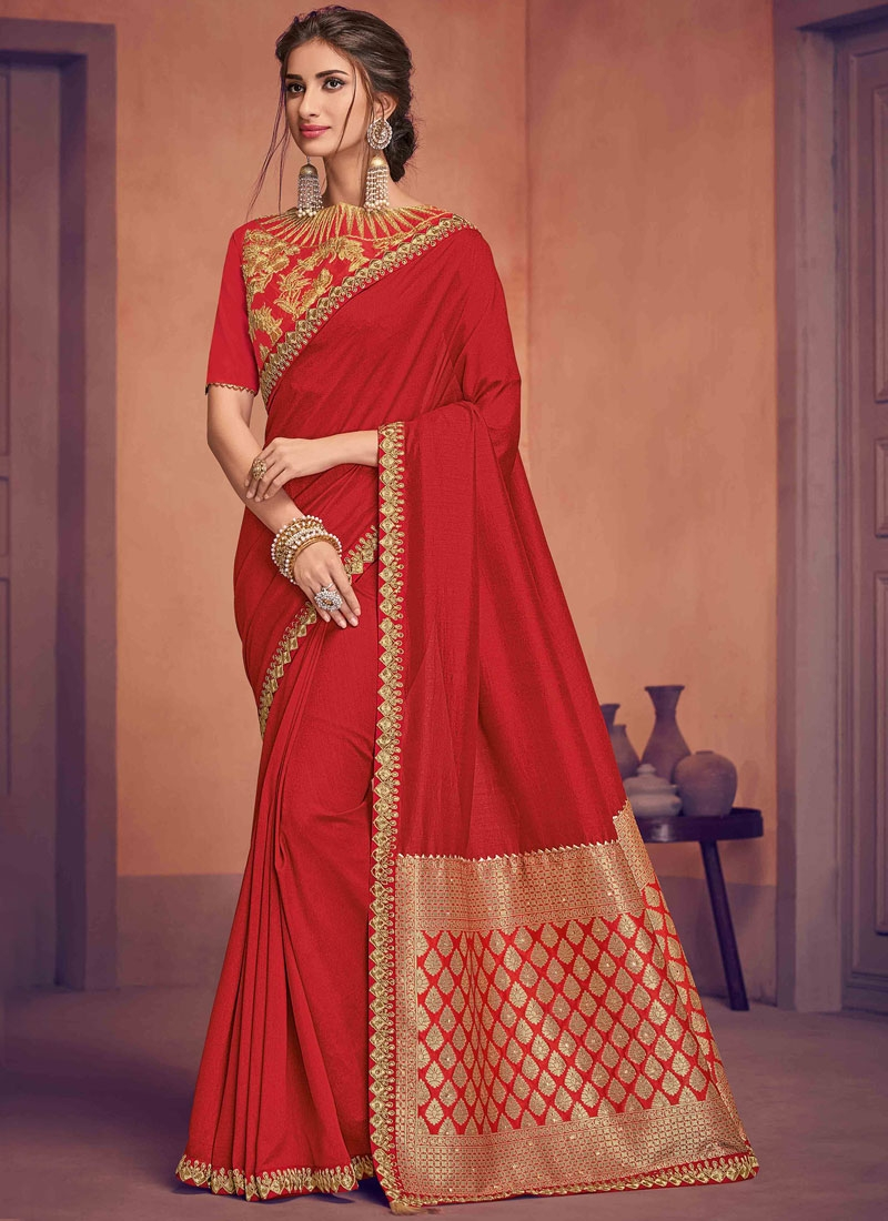 Lively Dori Work Ceremonial Designer Traditional Saree