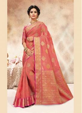 Lively Weaving Designer Traditional Saree