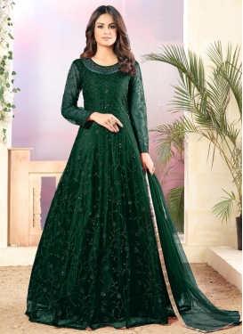 Long Length Anarkali Salwar Suit For Ceremonial