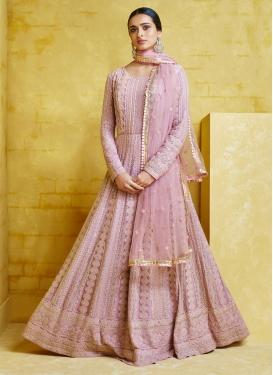 Long Length Anarkali Salwar Suit For Festival