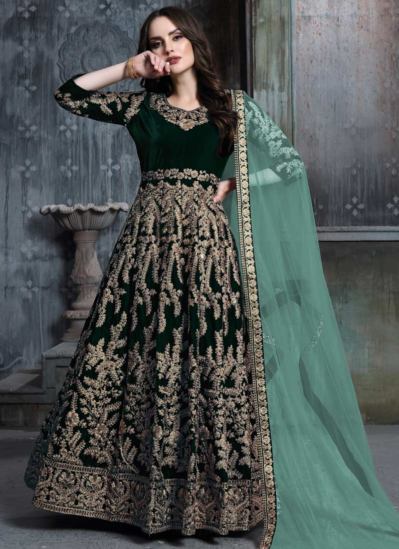 Long Length Anarkali Salwar Suit For Party