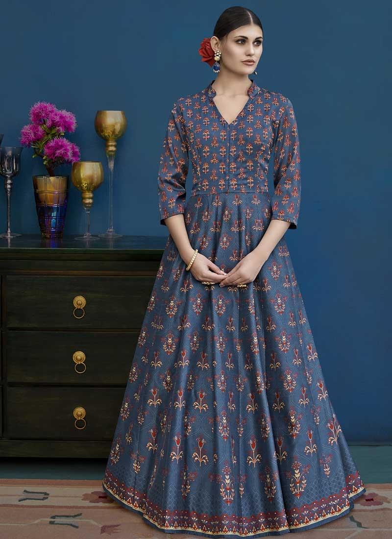 Long Length Anarkali Suit For Festival
