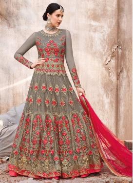 Long Length Designer Anarkali Suit For Ceremonial