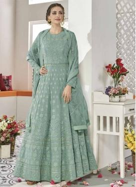 Long Length Designer Anarkali Suit For Festival