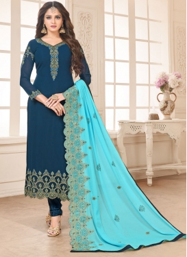 Long Length Pakistani Salwar Suit