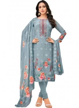 Long Length Pakistani Salwar Suit For Festival