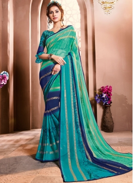Lovable Faux Georgette Casual Saree