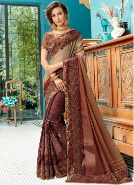 Lovable Resham Shaded Saree