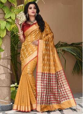 Lovely Art Silk Festival Traditional Saree