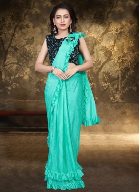 Lycra Contemporary Style Saree