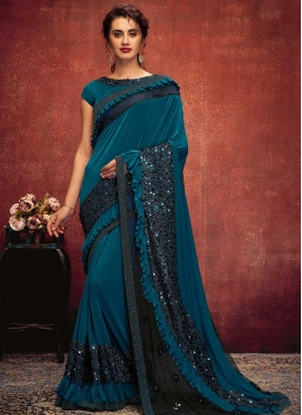 Lycra Trendy Classic Saree