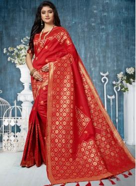 Magnificent Art Silk Weaving Traditional Designer Saree