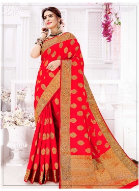 Magnificent Art Silk Weaving Traditional Saree