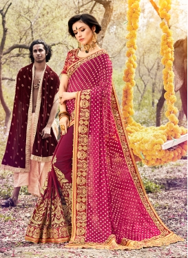 Majestic Classic Saree For Sangeet
