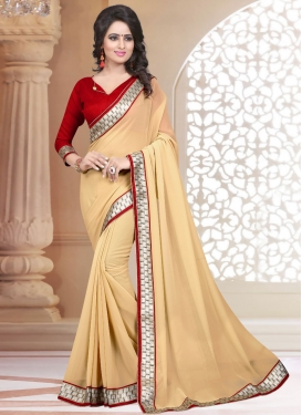 Majestic Faux Georgette Casual Saree