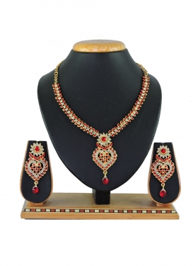 Majesty Alloy Necklace Set For Party