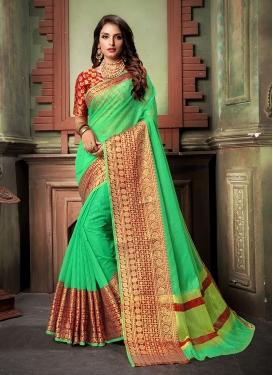 Majesty Weaving Ceremonial Classic Saree
