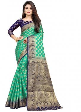 Malbari Silk Contemporary Style Saree