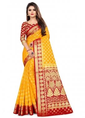 Malbari Silk Designer Contemporary Saree