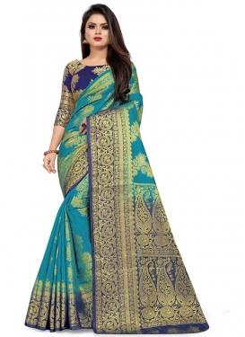 Malbari Silk Designer Contemporary Style Saree For Casual