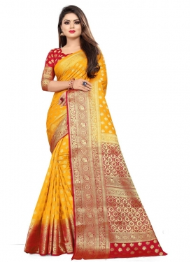 Malbari Silk Designer Traditional Saree