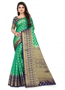 Malbari Silk Traditional Designer Saree
