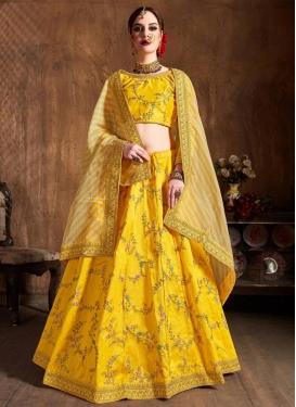 Malbari Silk Trendy Lehenga