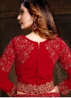 Maroon Resham Sangeet Lehenga Choli - 2