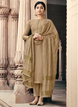 Maslin Palazzo Style Pakistani Salwar Kameez