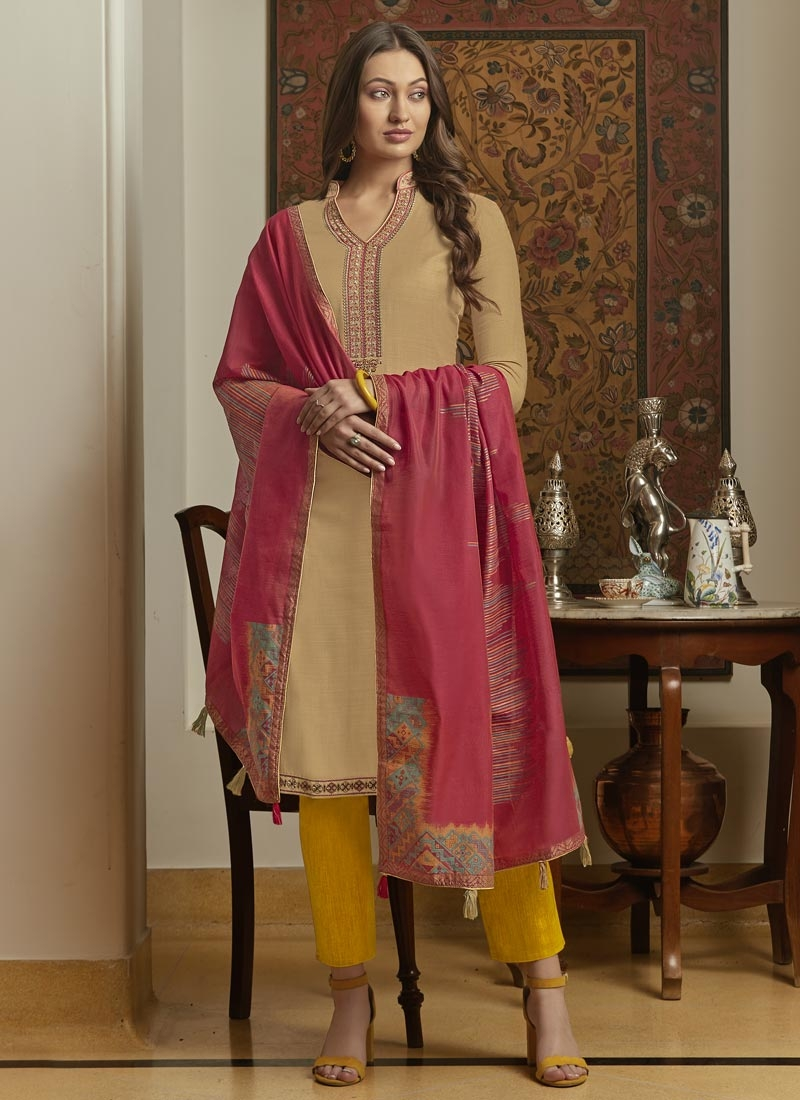Maslin Pant Style Classic Salwar Suit