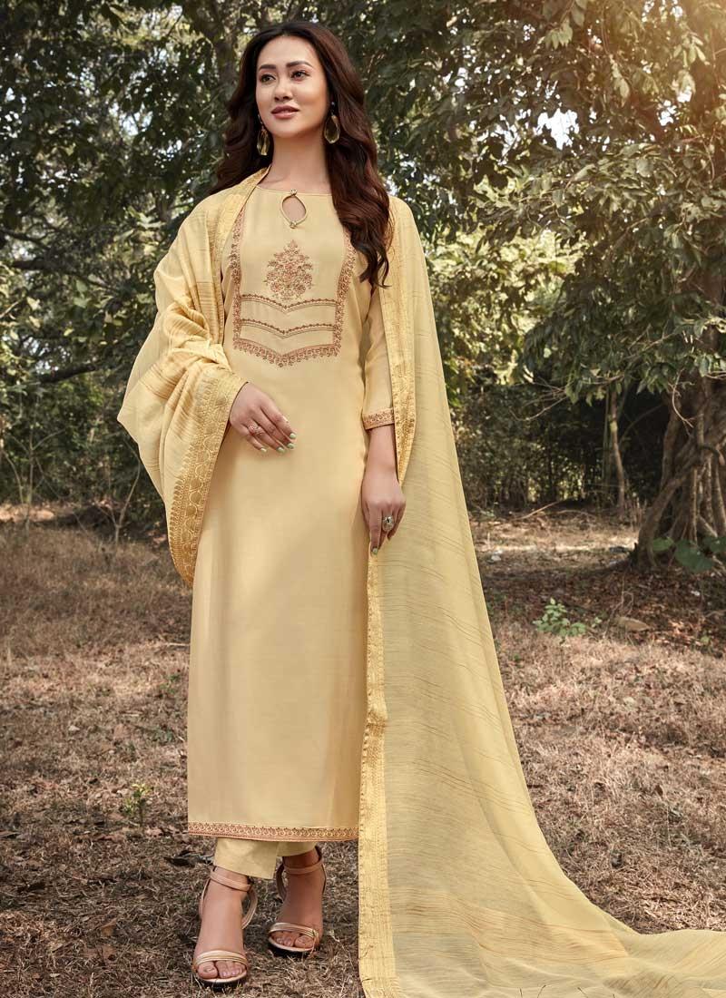 Maslin Pant Style Pakistani Salwar Kameez