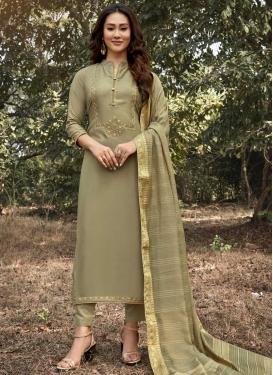 Maslin Pant Style Pakistani Salwar Suit