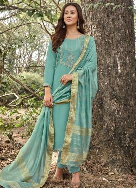 Maslin Pant Style Pakistani Suit