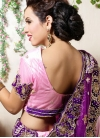 Masterly Embroidered Net Pink Designer Lehenga Choli - 2