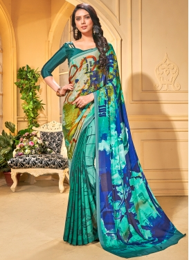Modern Printed Casual Trendy Saree