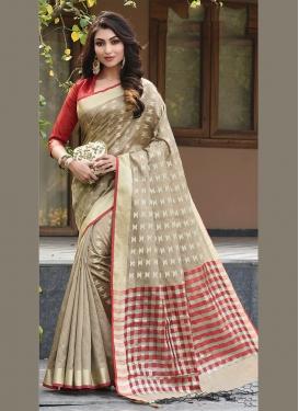 Monumental Art Silk Weaving Designer Traditional Saree