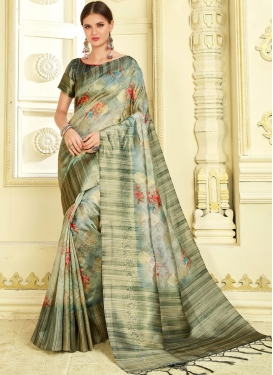 Multi Colour Art Silk Classic Saree