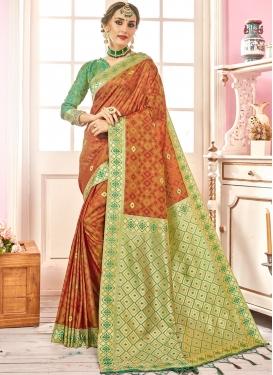 Multi Colour Color Designer Traditional Saree