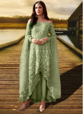 Net Asymmetrical Designer Suit For Festival