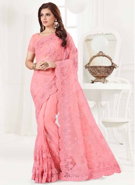 Net Classic Saree For Festival