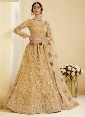 Net Designer Classic Lehenga Choli For Bridal