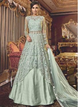 Net Designer Kameez Style Lehenga Choli